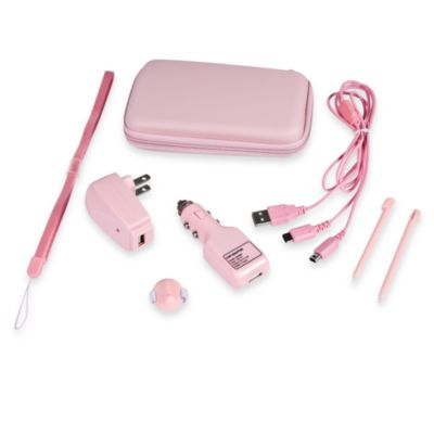 NintendoDS and DSi 9- in -1 Accecssory Kit in Pink