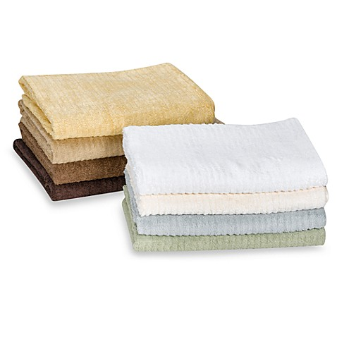 Bamboo Ribbed Santens Ribbed Bath Towels