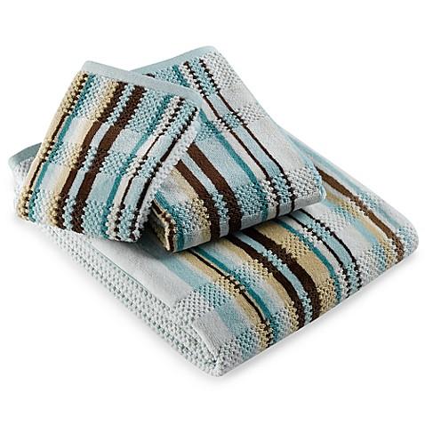 Etched Stripe Bath Towel Bed Bath Beyond