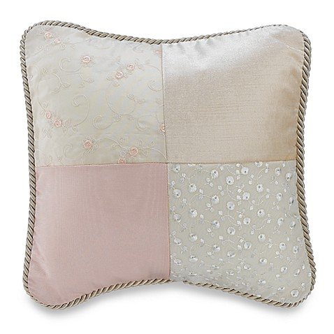Olivia Patch Decorative Pillow by Glenna Jean