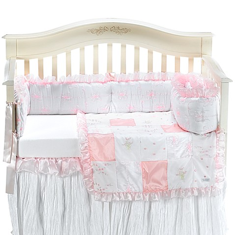 Little Diva 4-Piece Crib Bedding by Glenna Jean