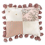 Glenna Jean Madison Square Patch Decorative Pillow