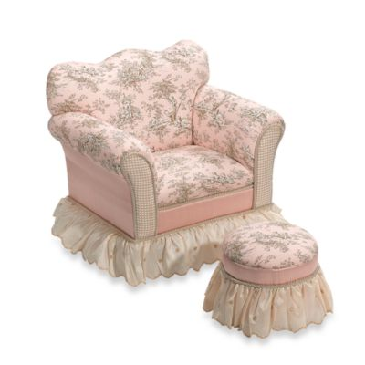 Madison Chair and Tuffet by Glenna Jean