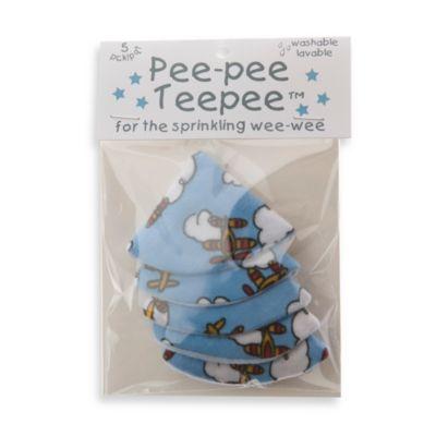 beba bean 5-Pack Pee-Pee Teepee™ in Bi-Plane