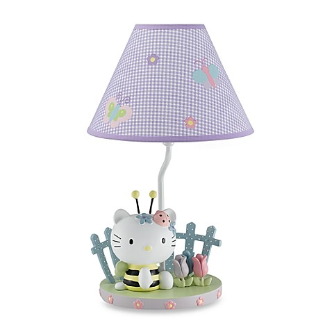 buy lambs ivy hello kitty friends lamp from bed bath. Black Bedroom Furniture Sets. Home Design Ideas