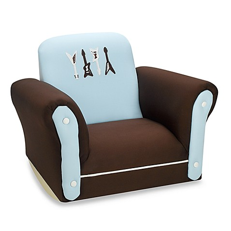 Lambs & Ivy® Rock N' Roll Upholstered Rocking Chair