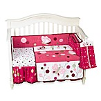 Lambs & Ivy® Raspberry Swirl 6-Piece Crib Bedding Set
