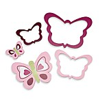 Lambs & Ivy® Raspberry Swirl Wall Decor (Set of 5)
