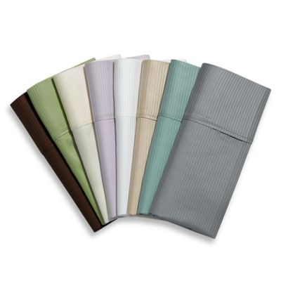 Eucalyptus Origins™ 100% Tencel® Lyocell 400 Thread Count Queen Sheet Set in Silver