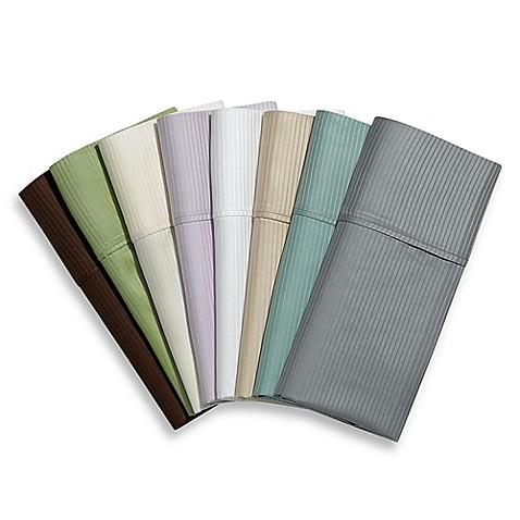 Eucalyptus Origins™ 100% Tencel® Lyocell 400 Thread Count Striped Sheet Set