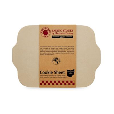Rectangular Cookie Sheet Baking Stone by Hartstone Pottery