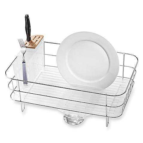Simplehuman 174 Slim Dish Rack Bed Bath Amp Beyond
