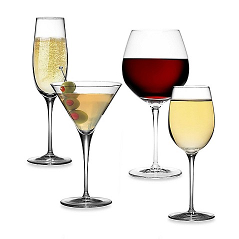 Luigi Bormioli Crescendo SON.hyx® Stemware (Set of 4)