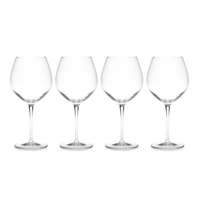 Crescendo SON.hyx® 22 1/2-Ounce Burgundy (Set of 4)