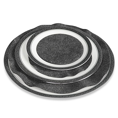 Hagerty Grey Felt Plate Separators