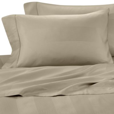 Euca-Lyptus Pillowcases (Set of 2) - King - Tan