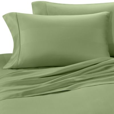 Euca-Lyptus Pillowcases (Set of 2) - Standard - Sage