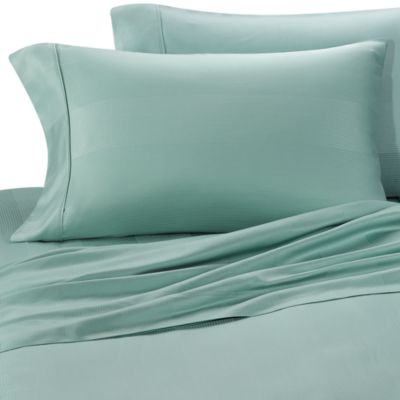 Euca-Lyptus Pillowcases (Set of 2) - Standard - Ocean