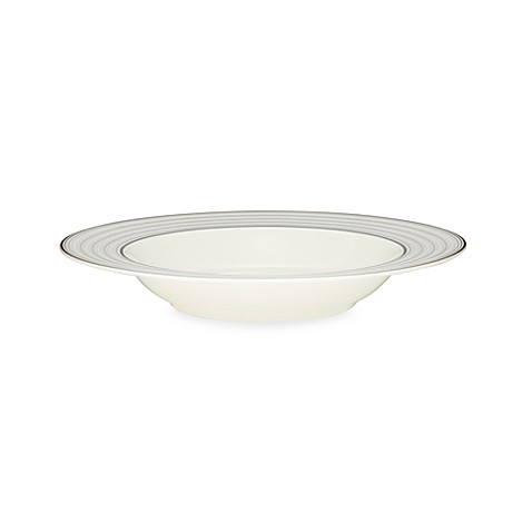 Noritake® Windsor Platinum 9 1/2-Inch Rim Soup Bowl