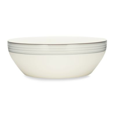 Noritake® Windsor Platinum 96-Ounce Round Vegetable Bowl