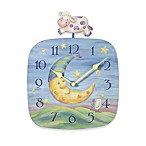 Cow Jumping Over the Moon Pendulum Clock