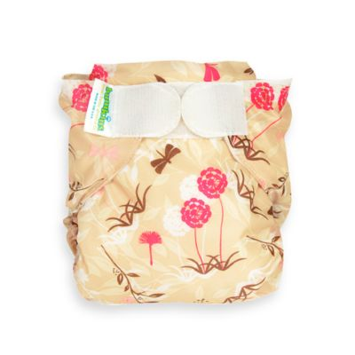 Bumkins® All-in-One Large Cloth Diaper in Flutter Floral
