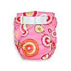 Bumkins® All-in-One Large Cloth Diaper in Pink Fizz Diaper
