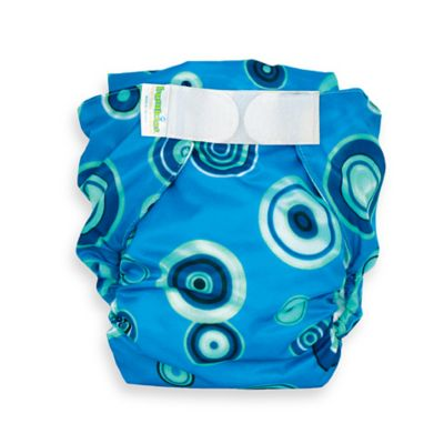Bumkins® All-in-One Large Cloth Diaper in Blue Fizz