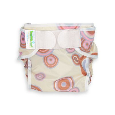 Bumkins® Waterproof Large Diaper Cover in Rose Circles