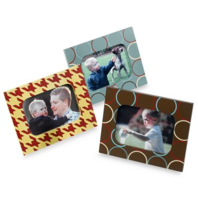 CoCaLo Couture® Aidan 3-Piece 5-Inch x 7-Inch Photo Frames
