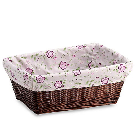 Cocalo Baby Sugar Plum Basket And Liner Buybuy Baby