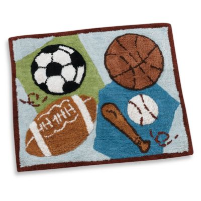 CoCaLo™ Baby Sports Fan Decorative Rug