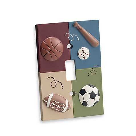 CoCaLo Baby® Sports Fan Switch Plate