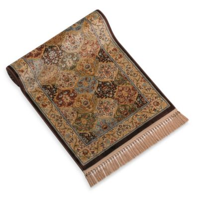 Verona Chocolate Panel Floor Rug