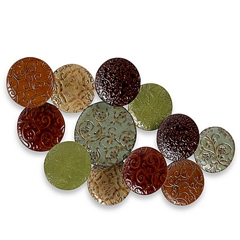Plate collage wall plaque bed bath beyond for Plates to decorate