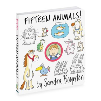 Fifteen Animals! Board Book by Sandra Boynton