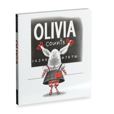 Olivia Counts Hard Cover Book