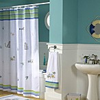 Croscill® Ocean Surf 70-Inch x 75-Inch Fabric Shower Curtain