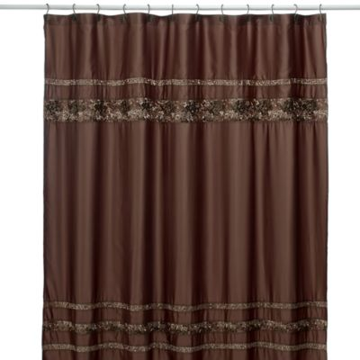 Mosaic Tile 70-Inch x 75-Inch Fabric Shower Curtain