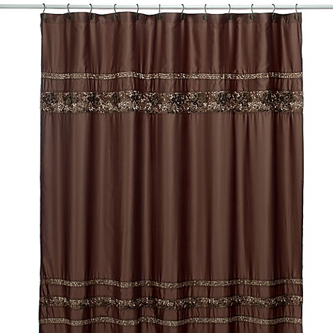 Croscill 174 Mosaic Tile Fabric Shower Curtain Bed Bath