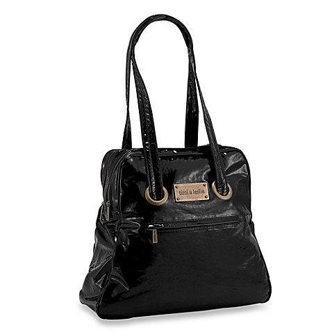 timi leslie black mod diaper bag buybuy baby. Black Bedroom Furniture Sets. Home Design Ideas