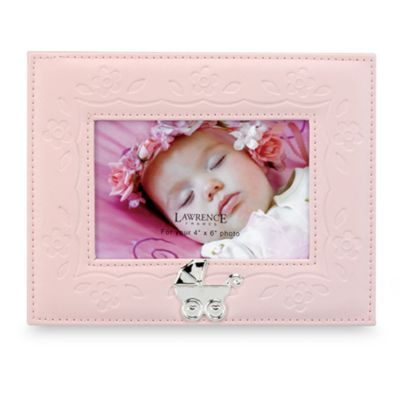 Lawrence Frames Leatherette Carriage Frame by Fred M. Lawrence in Pink