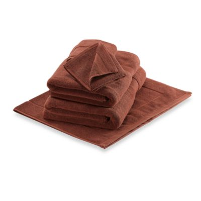 Wamsutta® Duet Washcloth in Brick