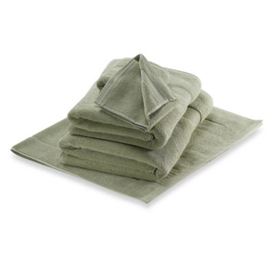 Wamsutta® Duet Washcloth in Thyme