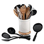 Denmark Tools for Cooks® Rotating 17-Piece Utensil Crock Set