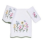 Avanti Premier Country Floral Fingertip Towel in White