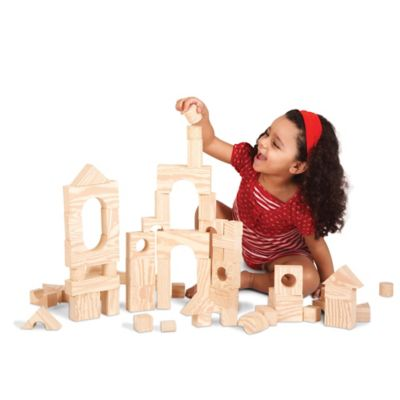 Wood-Like Soft Blocks by Edushape®