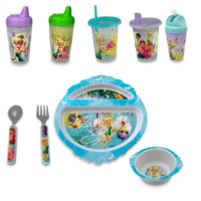 Disney Fairies Take & Toss 10-Ounce Straw Cups (Set of 3)