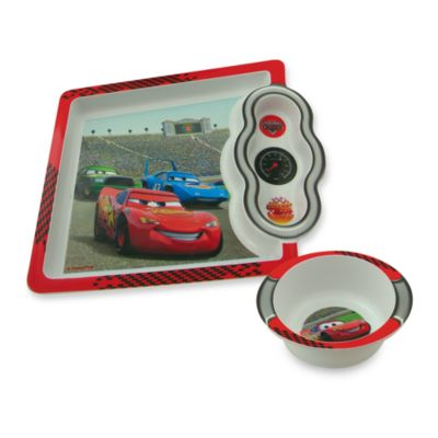 The First Years™ by Tomy Disney®/PIXAR Cars 8 1/4-Inch x 7 1/4-Inch Plate