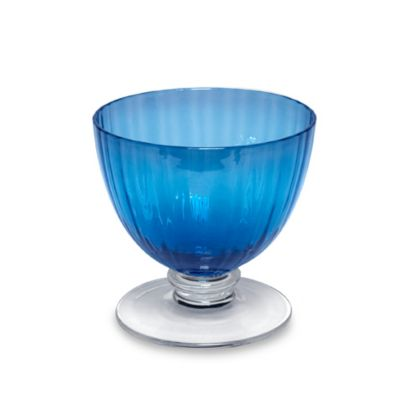 Aldrich Blue 10-Ounce Dessert Coupe